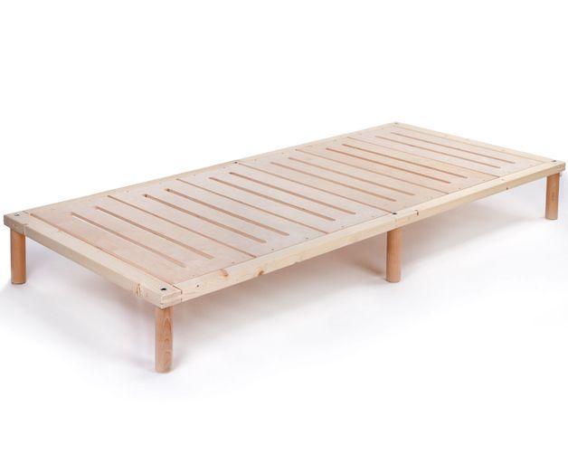 Betten - Gigapur 26899 Massivholz Komplettbett G1 70x200cm - ein Designerstück von Matratze-Marquardt_de bei DaWanda