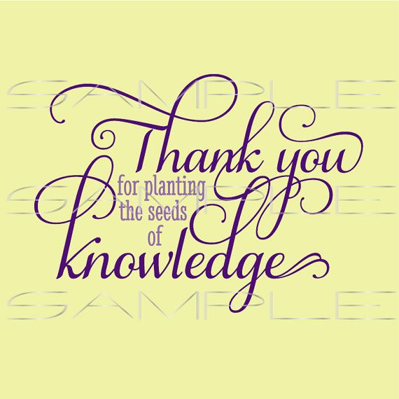 Quotes About Teachers Planting Seeds: 55 Best Images About Silhouette - Etsy On Pinterest