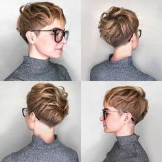 """""""Mi piace"""": 4,254, commenti: 31 - Short Hair DontCare PixieCut (@nothingbutpixies) su Instagram: """"A pixie 360 by a Russian Stykist making her Debut. Lets show some Love @strctmachine"""""""