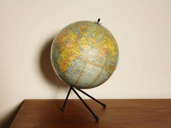 Globe terrestre vintage #décoration #intérieur #objet #insolite # ...