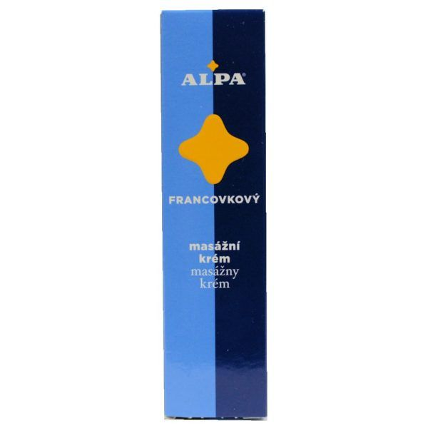 Alpa Czech Francovkovy Massage Cream 40g Blood Circulation Muscles Regeneration