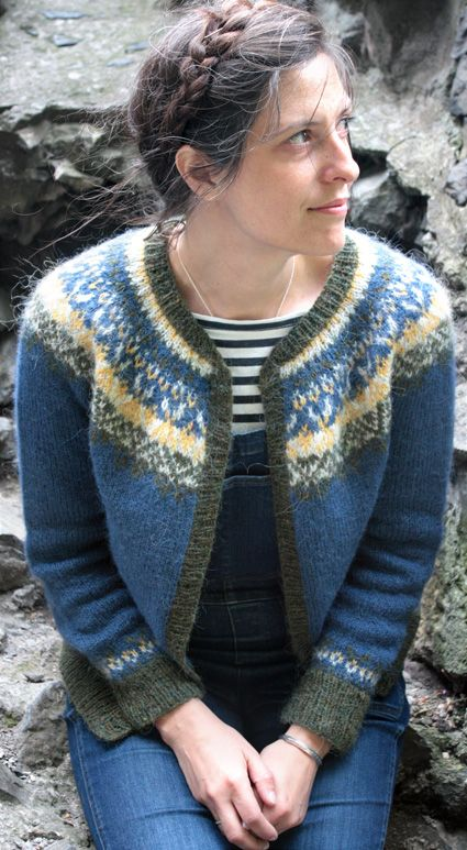 1394 best Knitting--Sweaters--Tops images on Pinterest | Fair isle ...