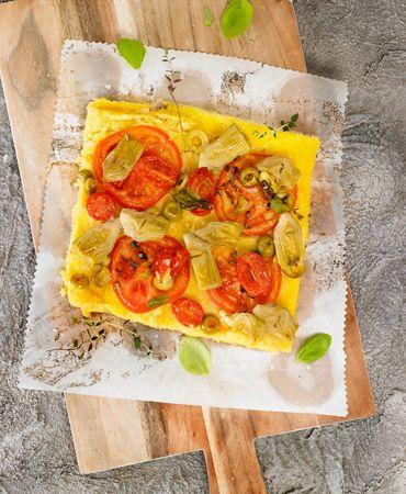 Pizza de polenta express | Delicooks | Good Food Good Life