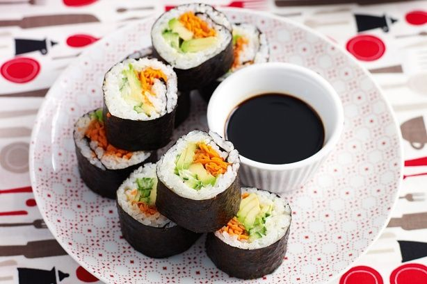 Sushi for kids. Get your kids in the kitchen to party and cook up a storm!