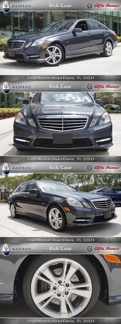Luxury Cars: 2012 Mercedes-Benz E-Class E 350 Luxury 2012 Mercedes Benz E350 Luxury, Clean Car Fax, Immaculate -> BUY IT NOW ONLY: $16796 on eBay!