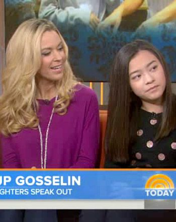"""Kate Gosselin Scolds Twins on Today for Not Talking: """"Spit It Out"""" - This chick is such a goof"""