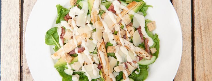 Salad with chicken breast or tofu