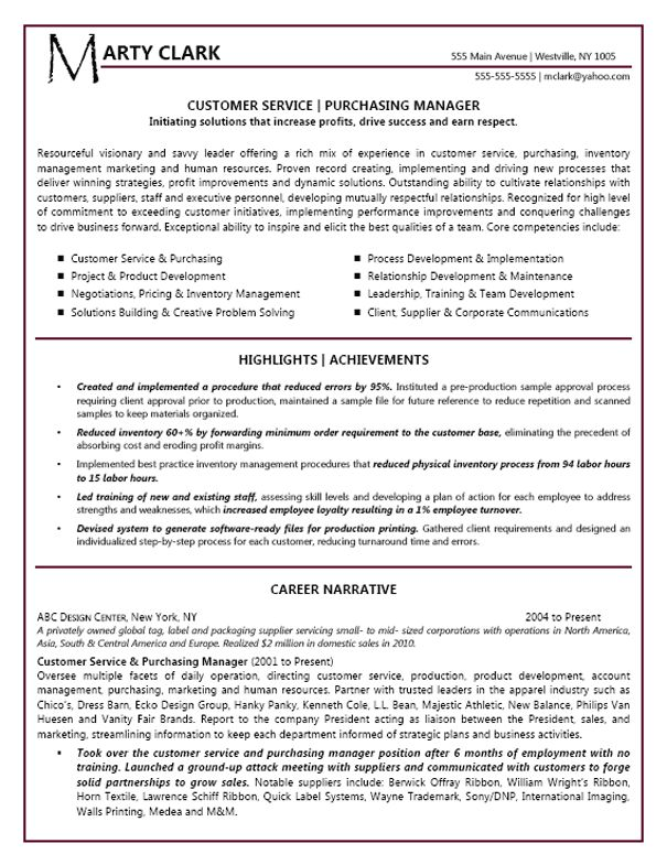 customer service manager resume example - Customer Service Template Resume