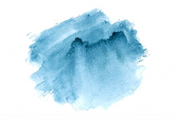 Navy Watercolor Stain With Color Shades Paint Background In 2020