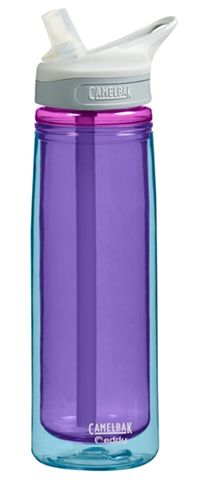 CamelBak bottles ROCK! Insulated Eddy bottle. I love these! Keep my water cold and refreshing! I get hot easy because of my MS and i love drinking cold water to cool me off.