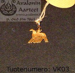 Viking age jewel, bronze: Odin / Viikinkiajan pronssikoru: Odin