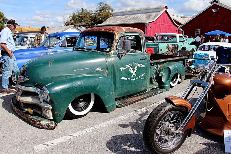 1954 1955 Chev Chevy Chevrolet Advance Design Pickup Truck