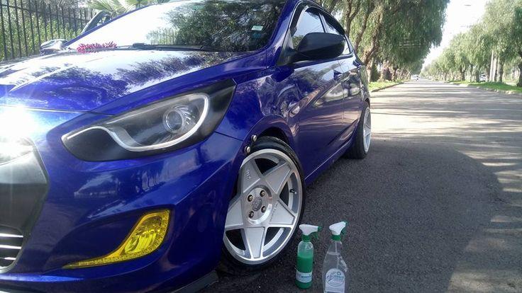 El #Hyundai brilla de manera Espectacular con Magic Clean Car deja Tu Auto Limpio y brillante de una sola vez y sin utilizar una gota de Agua, #lavasinagua #lavaenseco