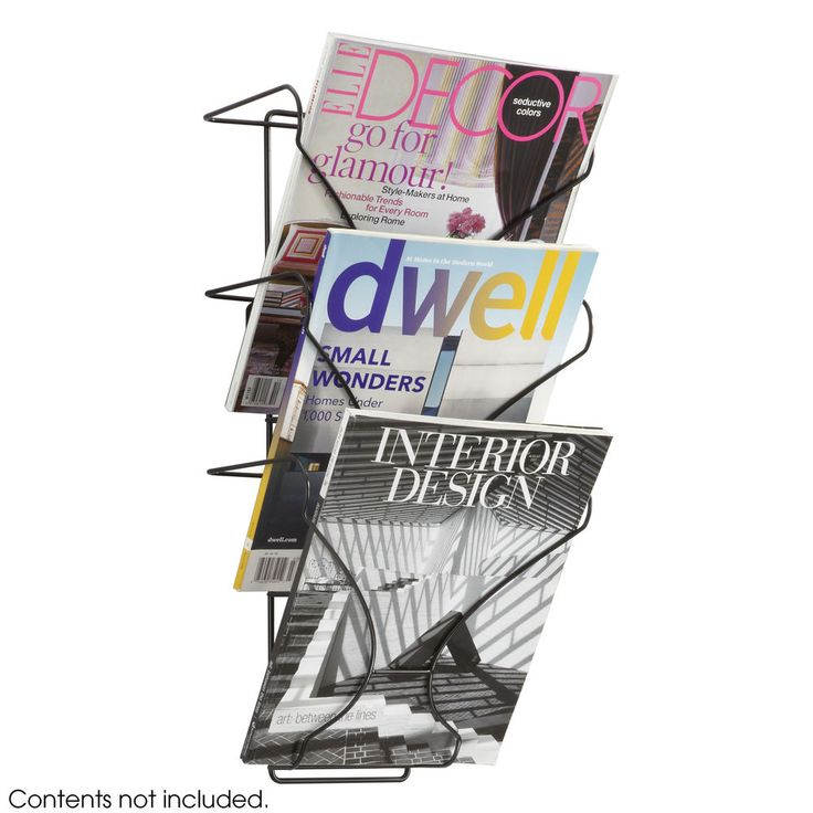 Safco's Wire Wall Display is a wire magazine rack wtih a three pocket wall display. With an aesthetic design and sturdy wire construction, the Wire Wall Display is adaptable to any workspace. • Wire magazine rack• Three pocket wall display • Aesthetic design• Wire construction. | eBay!