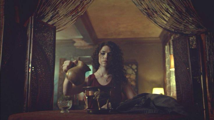 Hemlock Grove - Kaniehtiio Horn as Destiny Rumancek