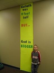 Sunday School Crafts Use as bulletin board