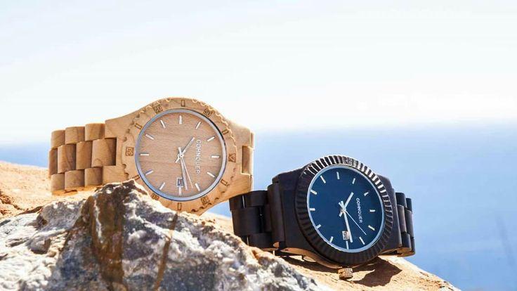 Relojes de Madera ★ Cohnquer. Siente la comodidad de la madera con diseño elegante y versátil..