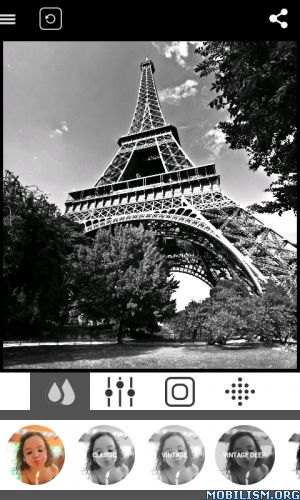BlackCam – Black&White Camera v1.45 [Unlocked]Requirements: 4.0 and upOverview: BlackCam the Black&White Camera for Android. BlackCam helps you to take stunning black and white photographs with live preview.  BlackCam the...
