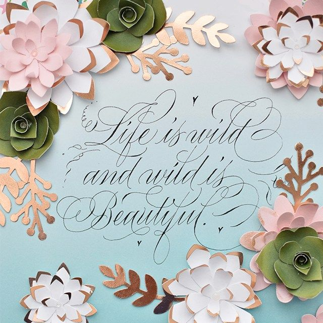 I Still Love You by Melissa Esplin: Life is Wild Time-Lapse Flourished Calligraphy Video