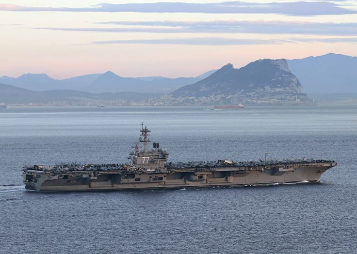 46 best uss george h w bush images on pinterest aircraft the aircraft carrier uss george h w bush cvn 77 transits the strait of gibraltar u s navynavy sciox Gallery
