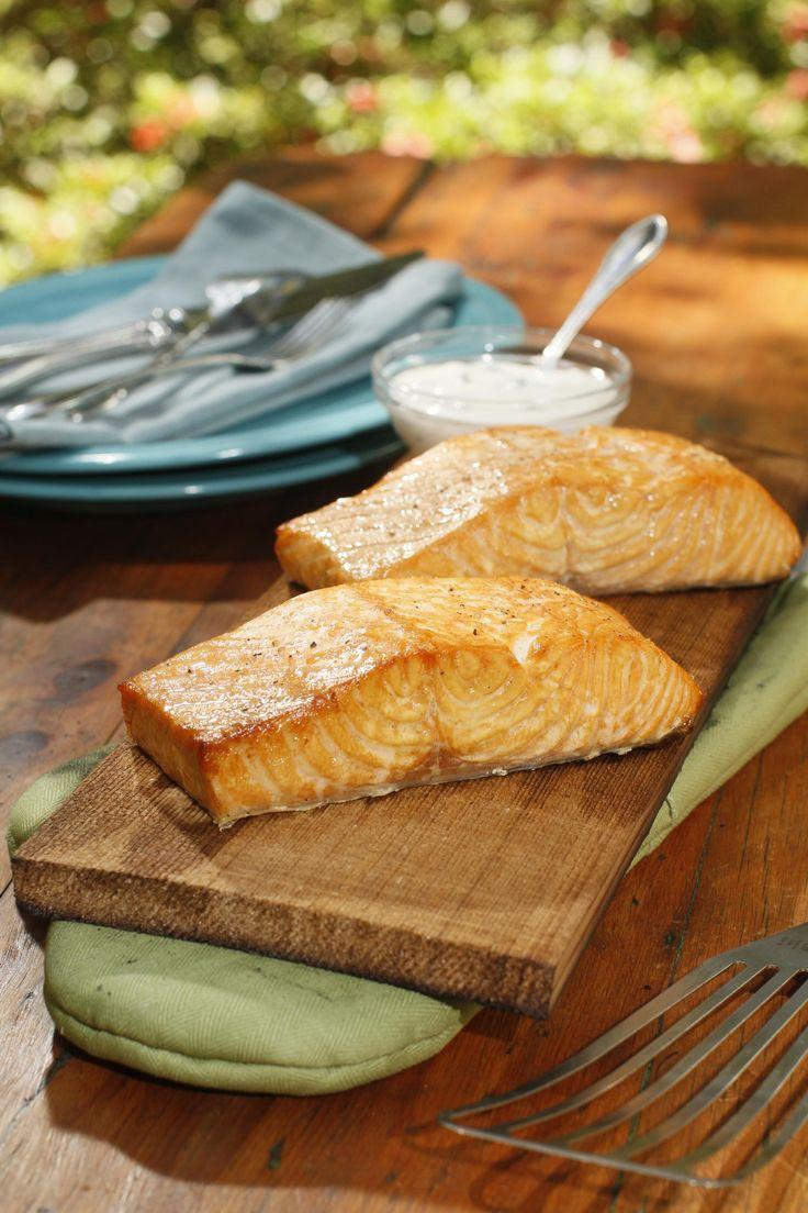 Salmon on a Plank-WKNO