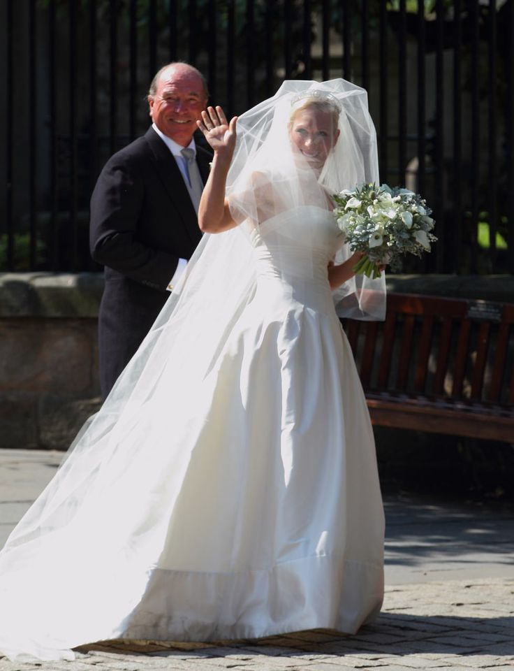 Zara Phillips married Mike Tindall in Stewart Parvin, 2010.