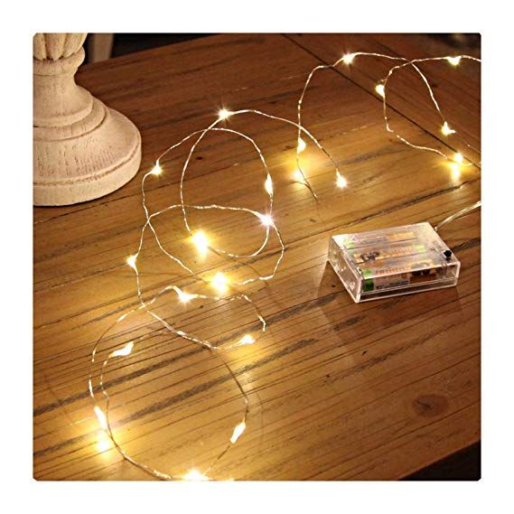 GardenDecor Led String Lights 50 Leds Decorative Fairy Battery