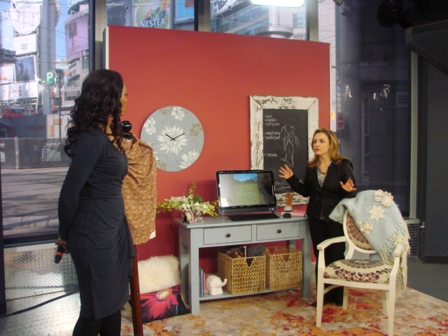Eclectic mix w/ @Sharon Grech at @Cityline