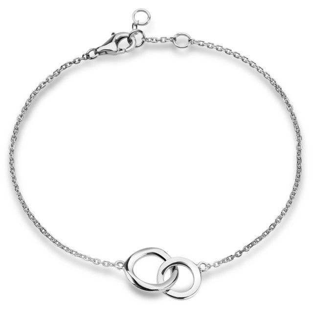 Simple - srebrna bransoletka