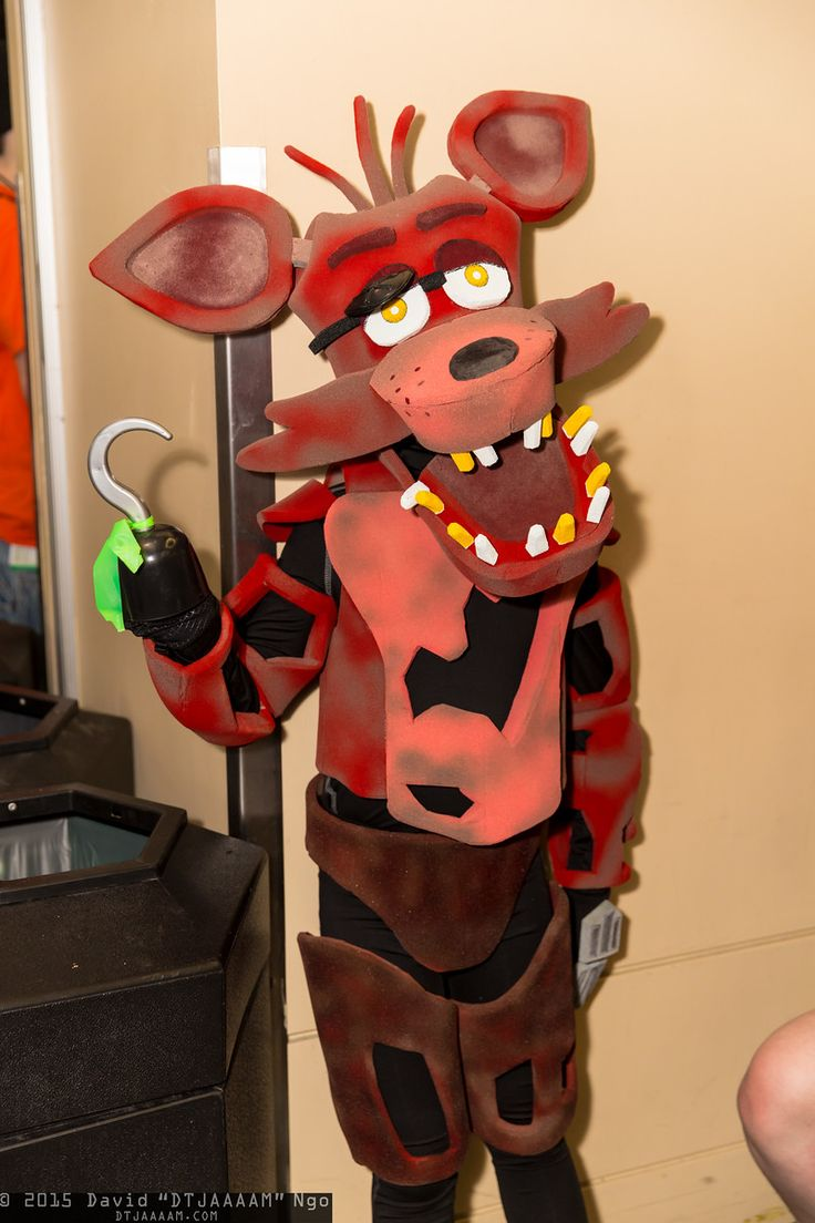 Fnaf bonnie costume for sale - Foxy Emerald City Comicon 2015 Dtjaaaam