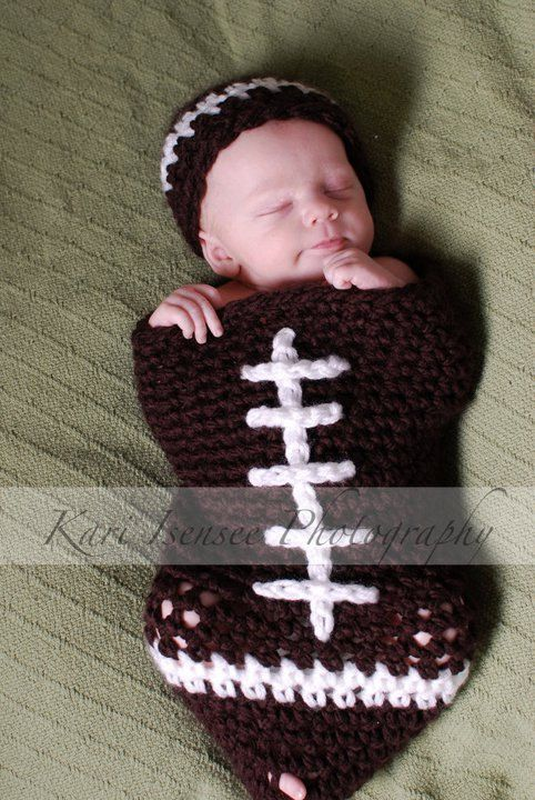 While looking for something for my fantasy football league, this little guy popped up. How cute!