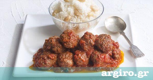 Σουτζουκάκια με κόκκινη σάλτσα και ρύζι από την Αργυρώ Μπαρμπαρίγου | Ακολουθήστε τη συνταγή μου και εισπράξτε συγχαρητήρια για τα πιο νόστιμα σουτζουκάκια!