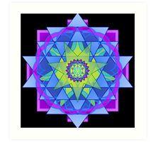 Inner Light Mandala  Art Print
