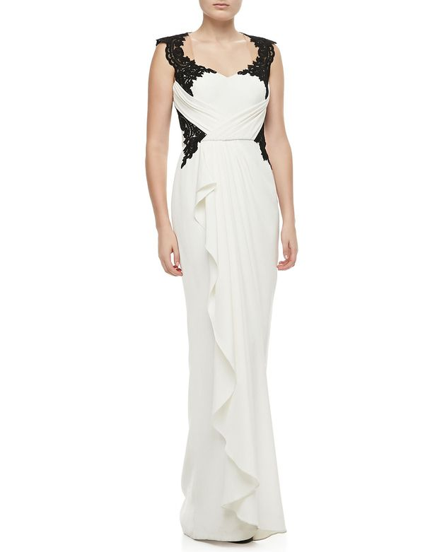 Notte by Marchesa, $1,095 at Neiman Marcus | 52 Wedding Dresses That Aren't Strapless