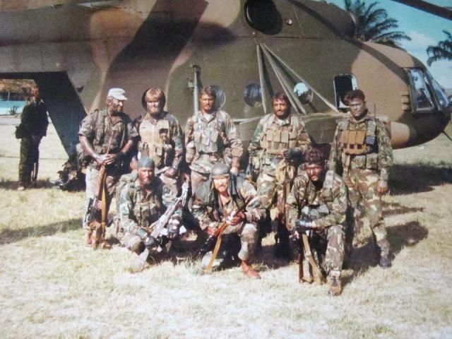 Taking the fight to them. South African Special Forces in the late 1980's