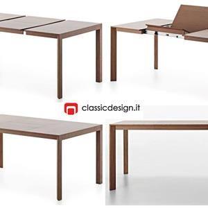 Tavolo W-Flap - design Rodolfo Dordoni - Molteni&C