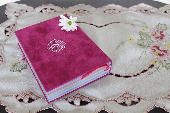Rainbow Quran Fuschia Hot Pink Ramadan Gift von Hi5Hijab auf Etsy