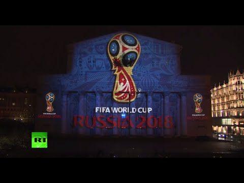 Video: World Cup 2018 logo. Эмблема чемпионата мира по футболу 2018 - световая шоу-проекция на фасаде Большого театра. - See more at: http://www.tanusha.msk.ru/#sthash.aNMcqoID.dpuf