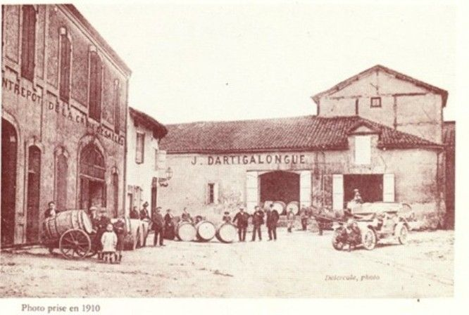 Dartigalongue oldest producing Armagnac house