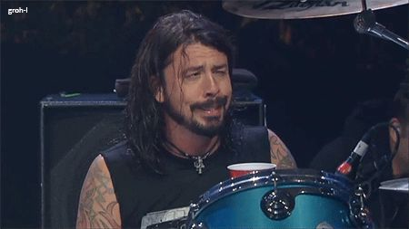 Dave Grohl. So hilarious!