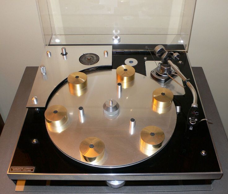 Transcriptor Hydraulic Reference Turntable