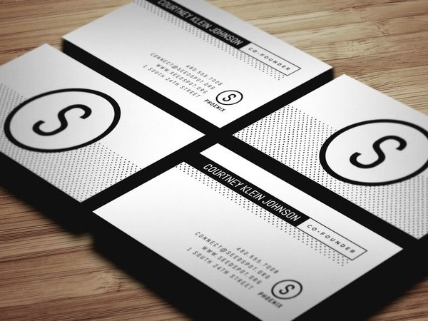 business card seed spot graphic design by simply adam mann in phoenix arizona