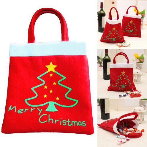Новогодний мешочек-сумка для конфет. Нашла здесь - http://ali.pub/e21uj