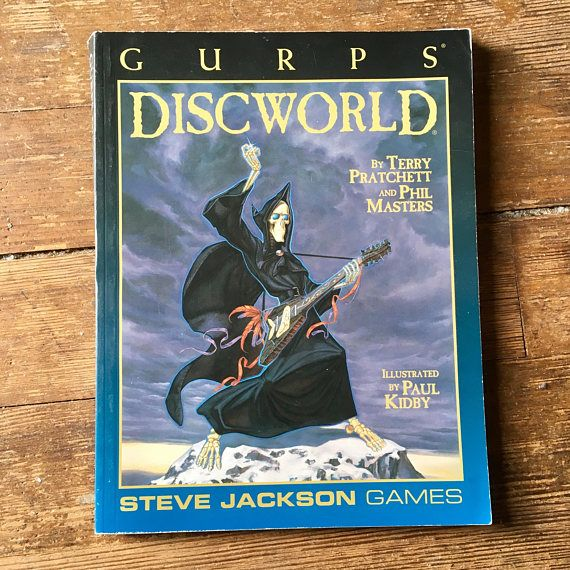 1998 GURPS: Discworld Role Playing Game Supplement First