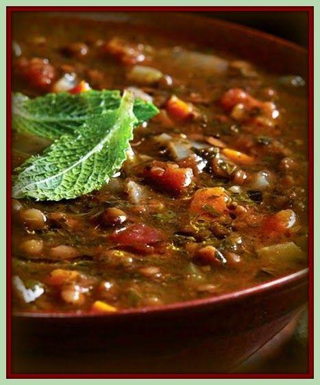 Sopa persa de lentilha | RECEITASDMAIS.com