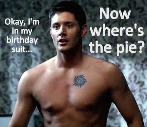 Supernatural Dean Happy Birthday Traffic Club