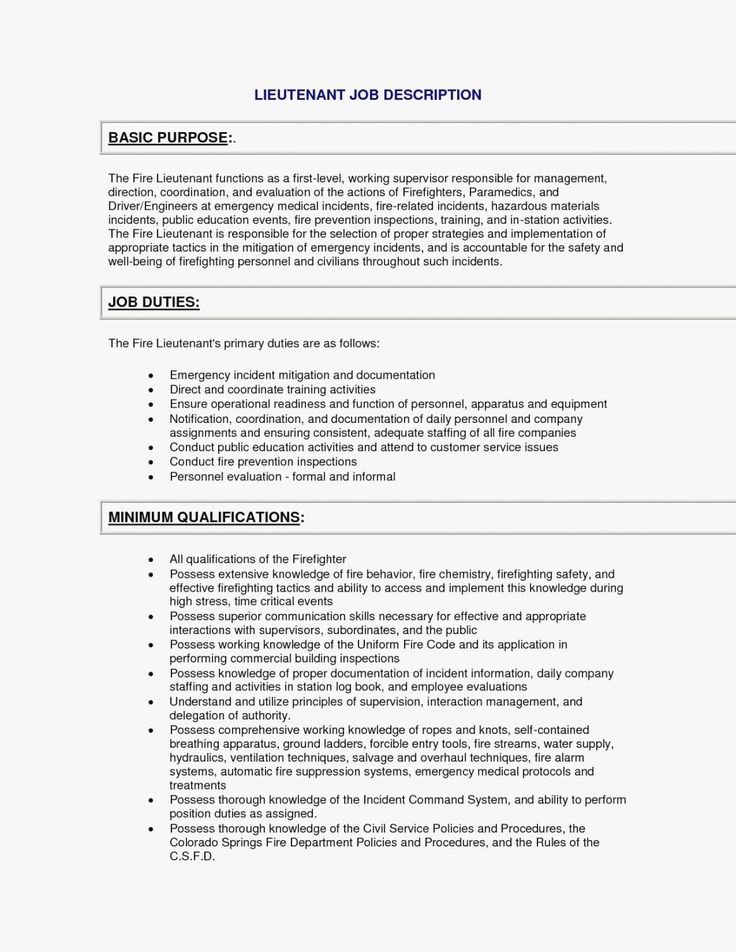 30 correctional officer skills resume with images
