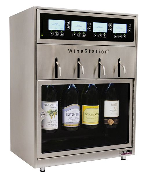 Napa Technology Introduces WineStation 3.0 The Most Advanced Wine Dispensing & Preservation System