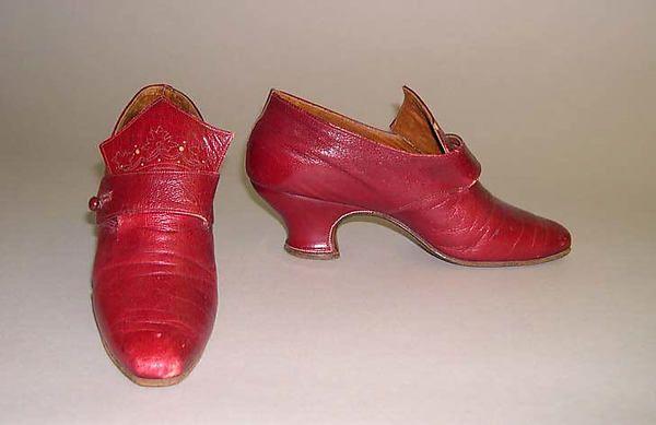 Shoes 1885–99 | American or European | The Met