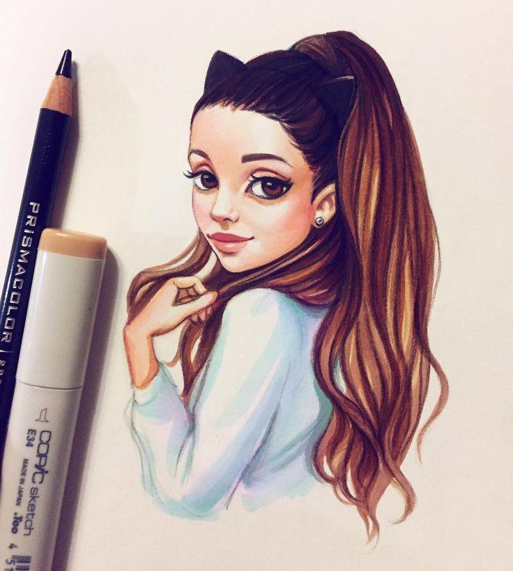 Дружба, красивые картинки красивых девочек нарисованных